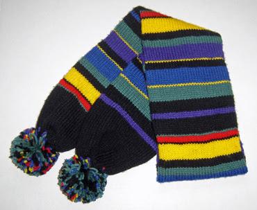 finished scarf