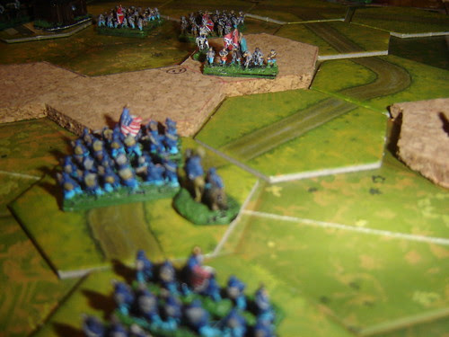 Second Union assault in centre makes ground also