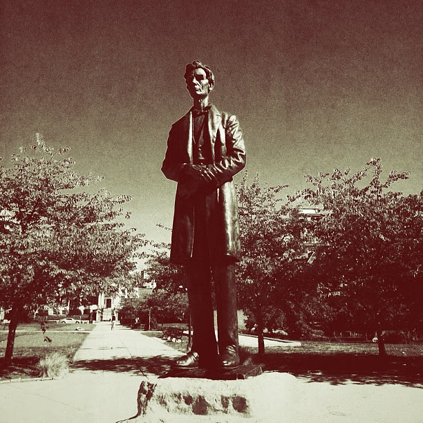 Vampire Hunter #abelincoln #cincinnati #downtowncincy
