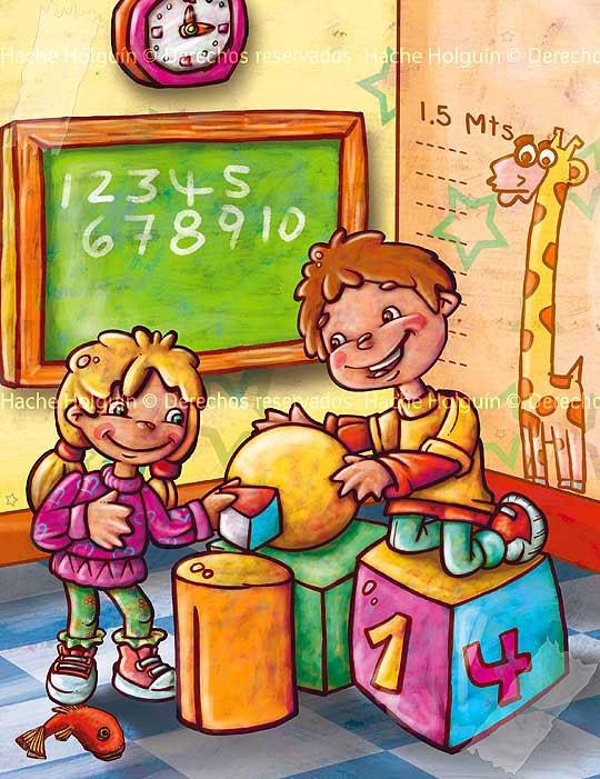 Ilustración para texto guía