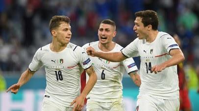 Италия сыграет с Испанией в 1/2 финала Евро-2020
