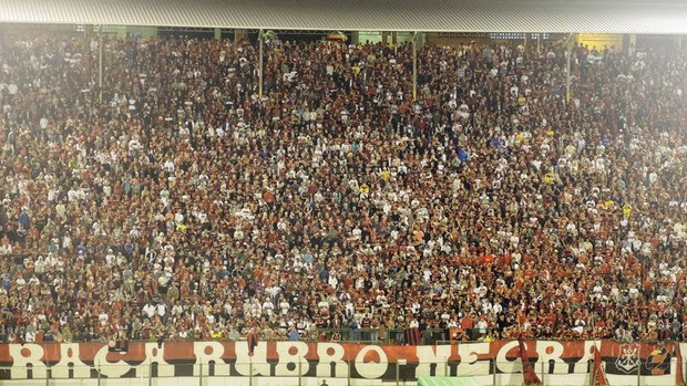 Torcida Flamengo x Campinense (Foto: Cahê Mota)