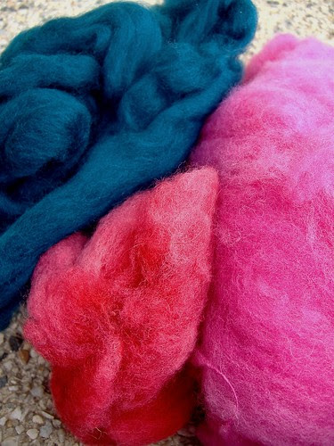 coloured fleece from cristina