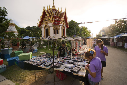 Jewelry at Karon temple market