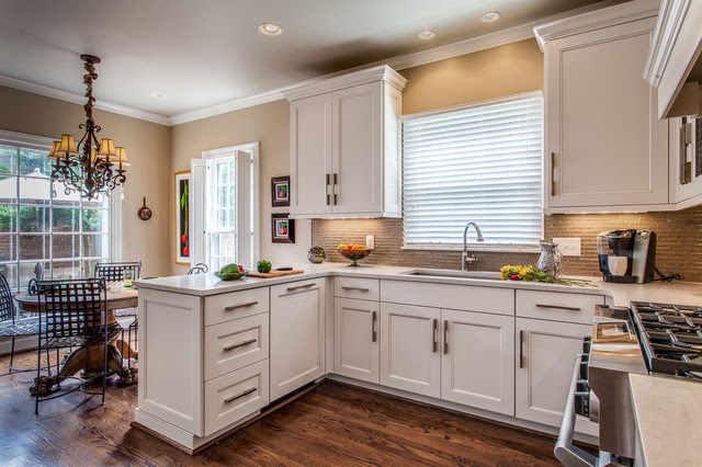 A Woodmont job - Traditional - Kitchen - nashville - by ...