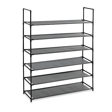 Studio 3B™ 6-Tier Fabric Storage Shoe Rack
