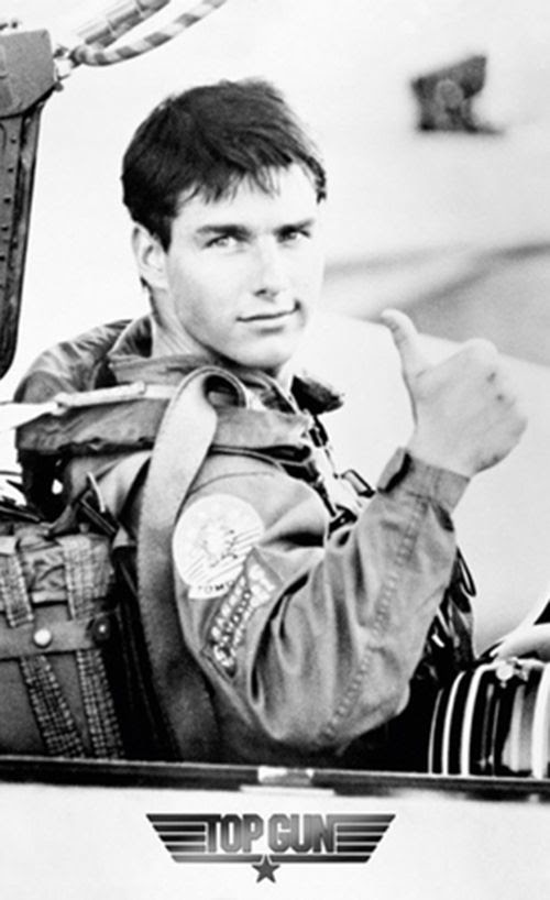 Tom Cruise when he was good...Top Gun is my favorite movie