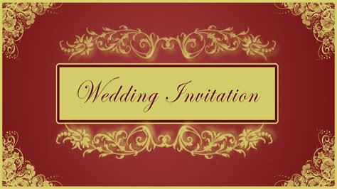 How to Design Wedding Invitation Card Front Page in