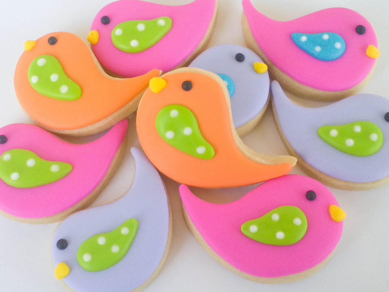 Chick Sugar Cookies- 2 dozen