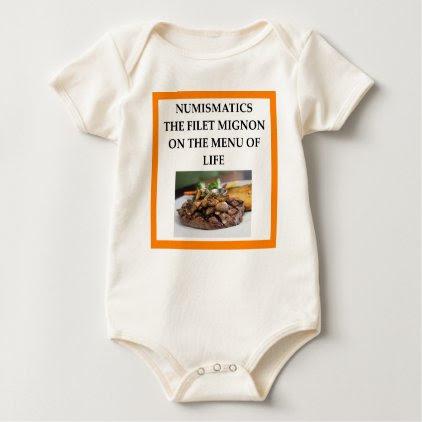 NUMISMATICS BABY BODYSUIT