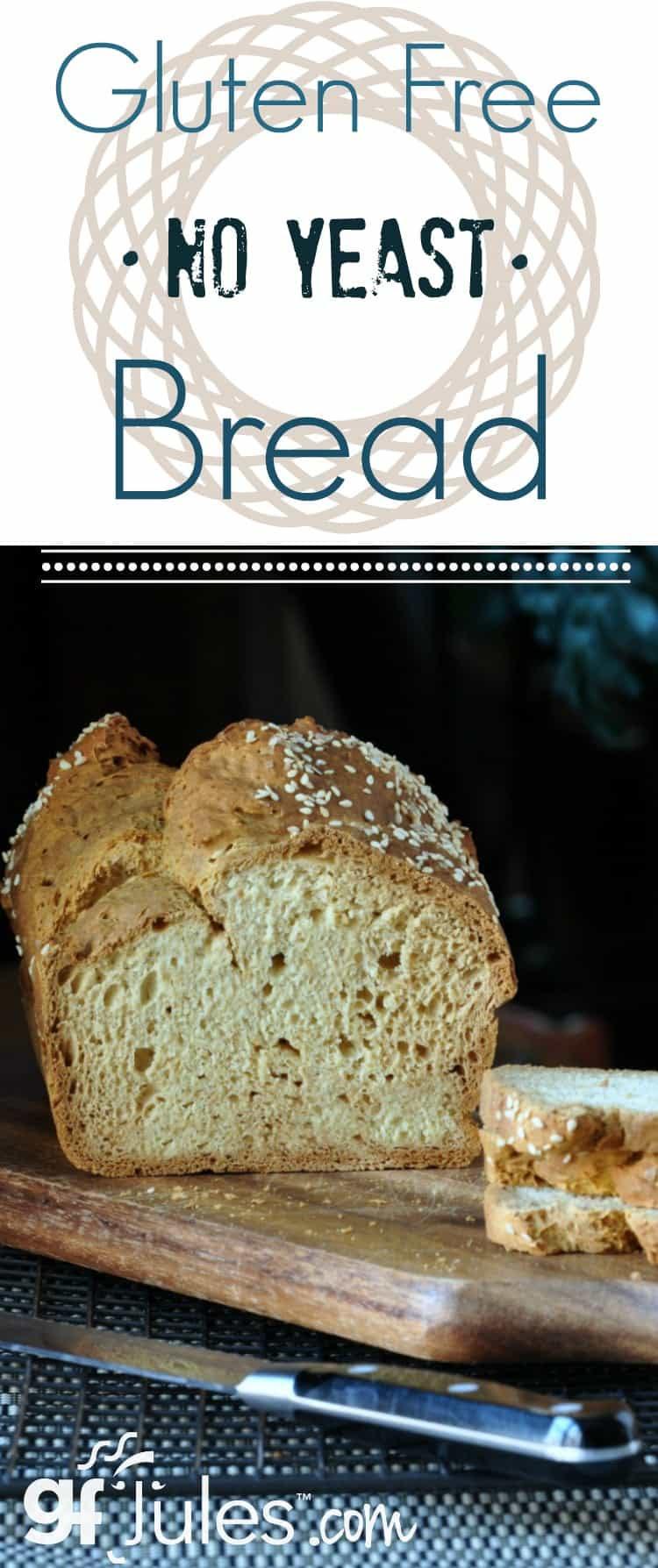 Gluten Free No Yeast Bread Recipe for Sandwiches |gfJules