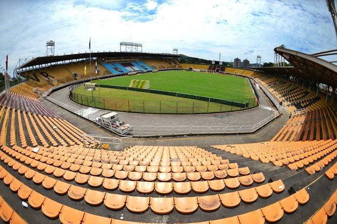 Estádio Raulino de Oliveira será adaptado para receber partida de futebol americano (Foto: Divulgação/Ferj)