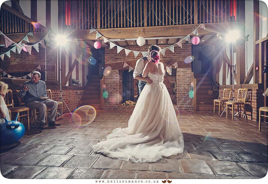 1st Dance at Barrandov Opera wedding venue, 2015 - www.helloromance.co.uk