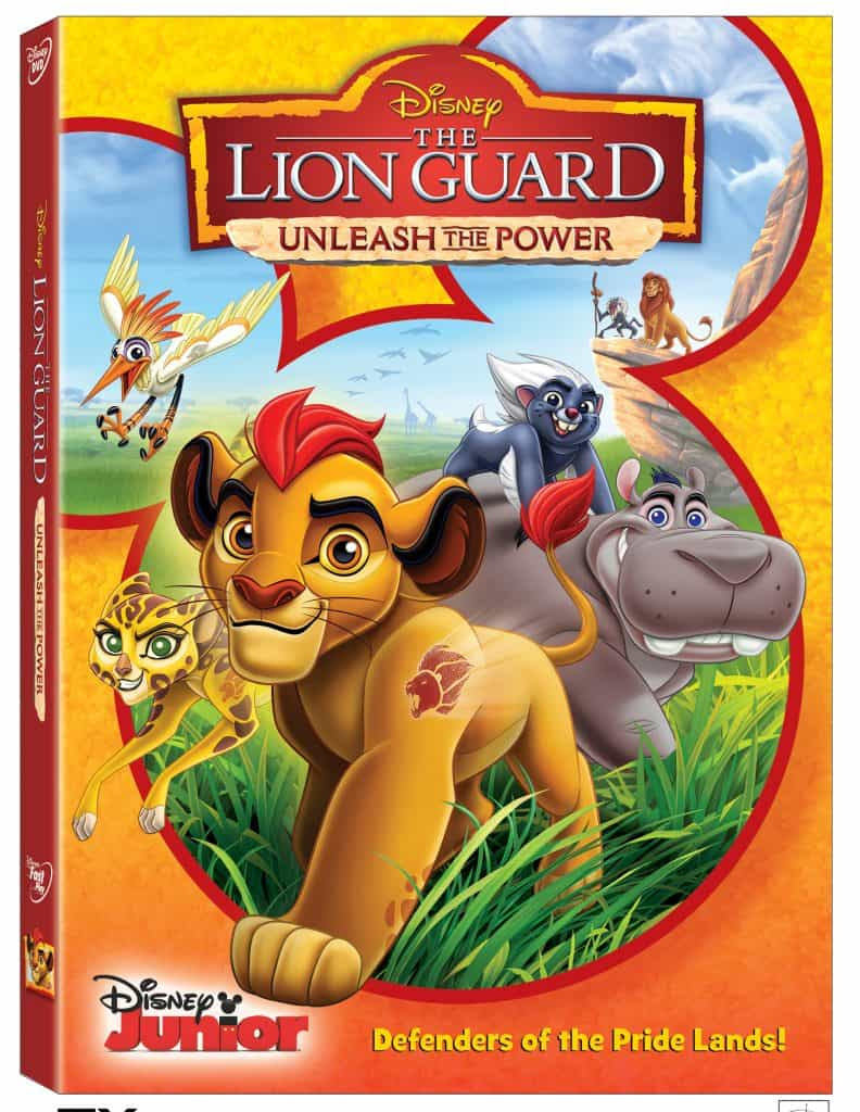 Lion Guard Unleash the Power