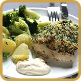 Lemon-crumbed Fish with Tartare Sauce
