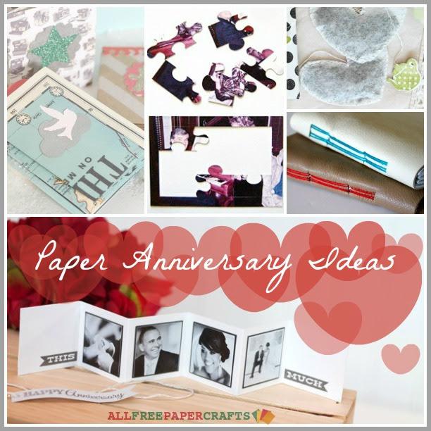 5 Paper Anniversary Ideas Craft Paper Scissors