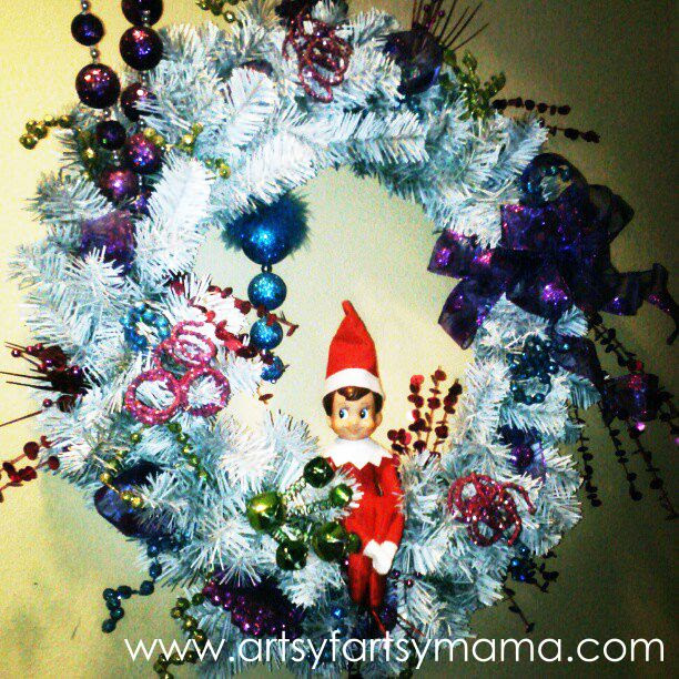 27 Easy Elf on the Shelf Ideas at artsyfartsymama.com #ElfontheShelf #Christmas