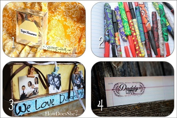 Father 39 s day crafty gifts for guys roundup little for Small diy projects for guys