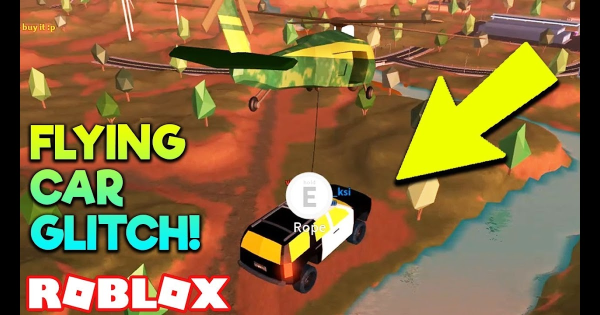 how to fly a helicopter in jailbreak roblox
