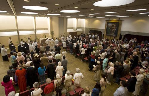 Salve in the Chaplaincy