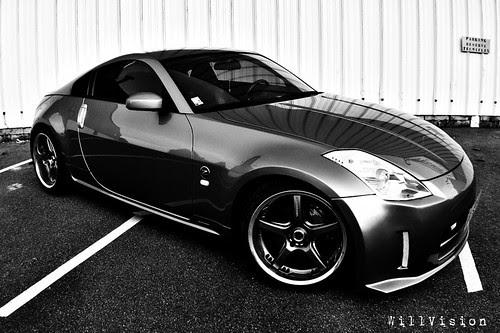 JDM Nissan 350Z / FairladyZ - Nismo bodykit & Volk wheels
