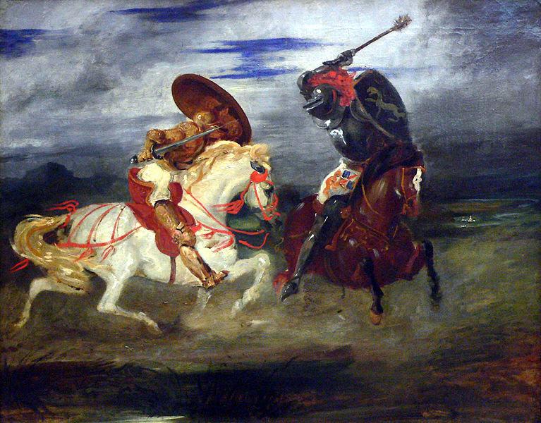 File:Louvre-peinture-francaise-paire-de-chevaliers-romantiques-p1020301.jpg