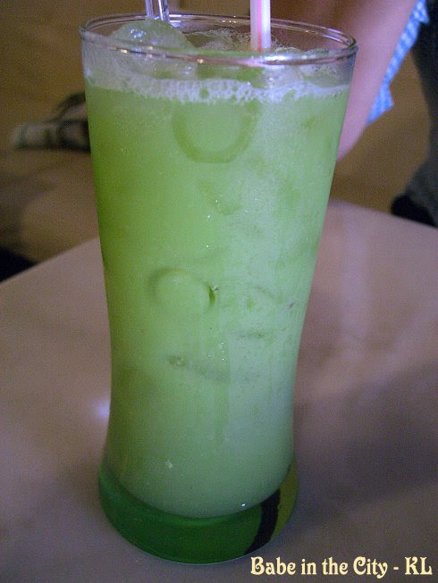 Kedondong Juice with Sour Plum (RM2.80)