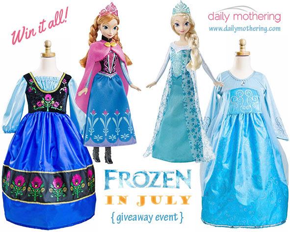 Frozen in July Giveaway