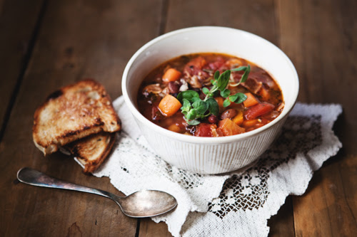 mixed bean soup
