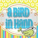 A Bird in Hand Blog Design