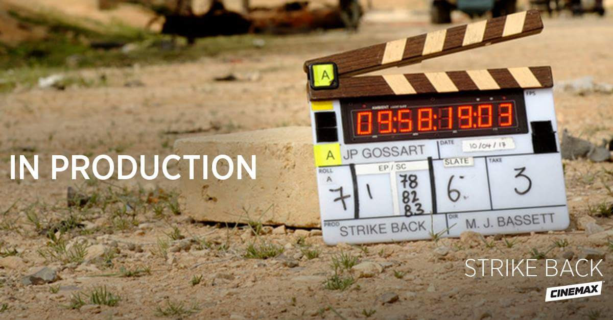 Military Spy Action Drama, STRIKE BACK, Commences Principal Photography For Season Five Reboot