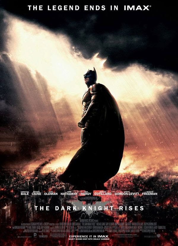 THE DARK KNIGHT RISES' theatrical poster for IMAX.