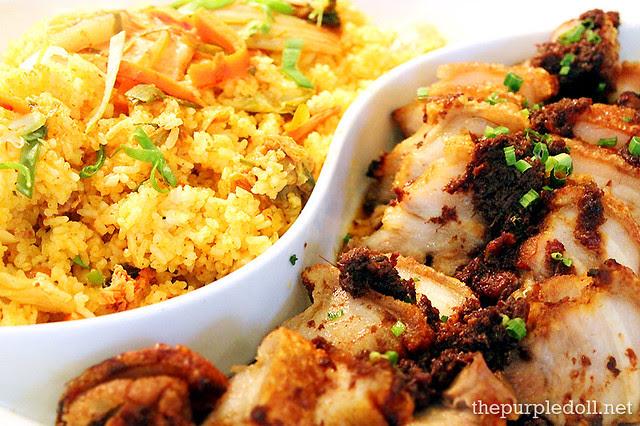 Entrees - Kimchi Bokumbap and Pork Binagoongan