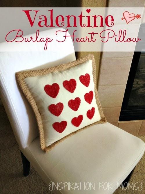 No-Sew+Burlap+Heart+Pillow+Tutorial