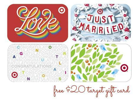 FREE $20 Target Gift Card with Wedding Registry