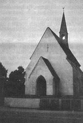 Neue Kapelle in Düren (Aufnahme P. Schenker, 1967)