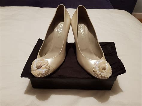Chanel Bridal Shoes   Sell My Wedding Dress Online   Sell