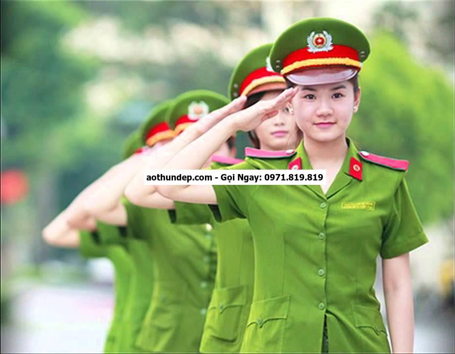 quân phục công an nhân dân việt nam