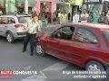 Briga de trânsito: bate boca termina em agressão