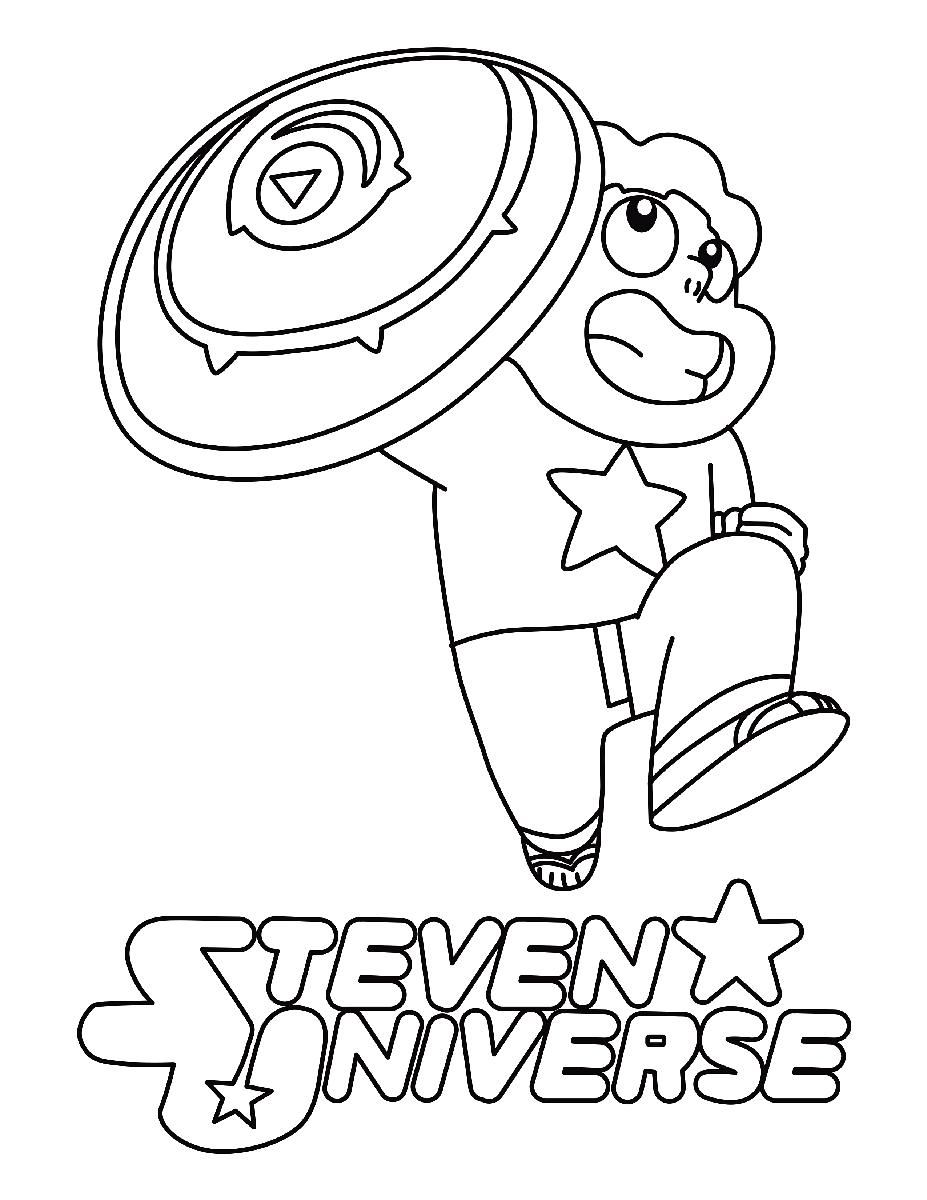 Steven Universe Coloring Sheet Printable