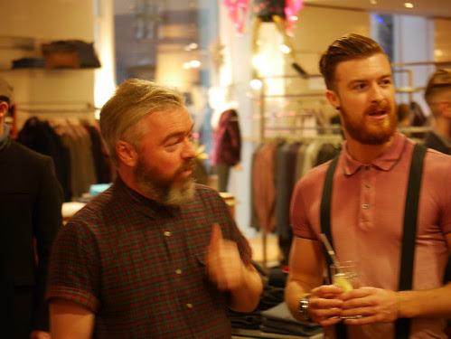 """Decembeard"" Event At Harvey Nichols, Edinburgh - 1"