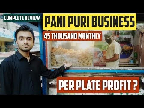 How much money do Pani-Puri walas make?