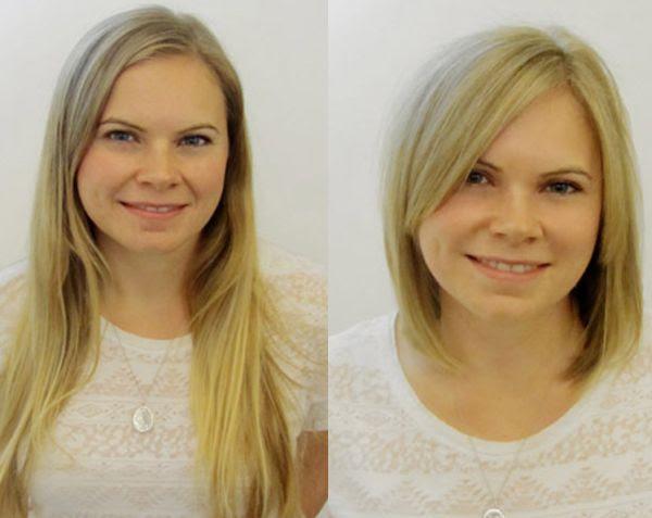 Frisuren Stil Haar Einzigartige Vorher Nachher Frisuren 15 H