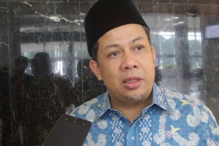 Wakil Ketua DPR RI Fahri Hamzah di Kompleks Parlemen, Senayan, Jakarta, Kamis (22/6/2017).
