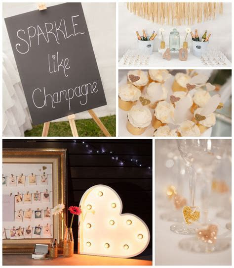 Kara's Party Ideas Sparkle Themed Fortieth Birthday Party