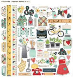 Homespun Stickers Simple Stories CHA 2014