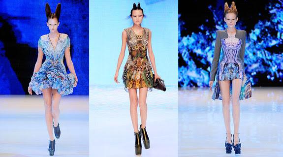 Alexander McQueen Spring 2010 Fashion Show