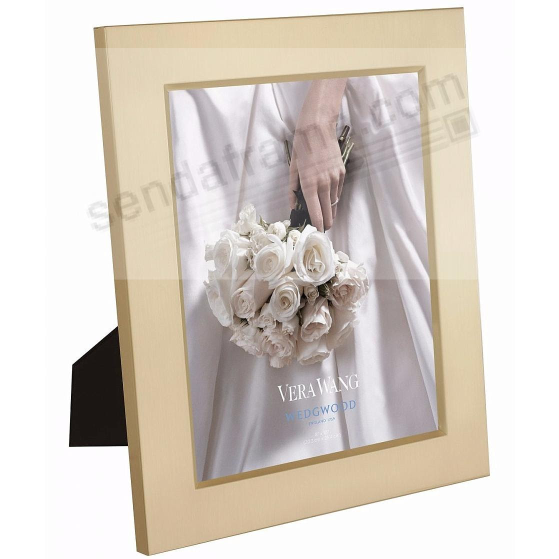 Satin Gold 8x10 Frame By Vera Wang For Wedgwood Picture Frames