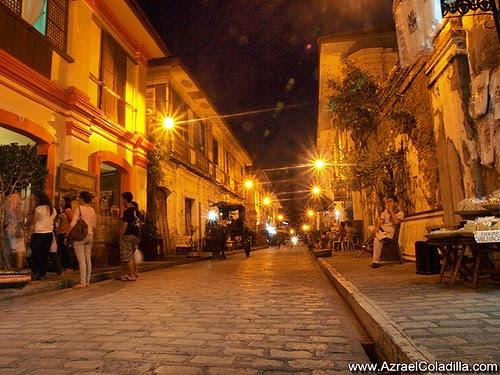 Calle Crisologo in Vigan - photos by Azrael Coladilla