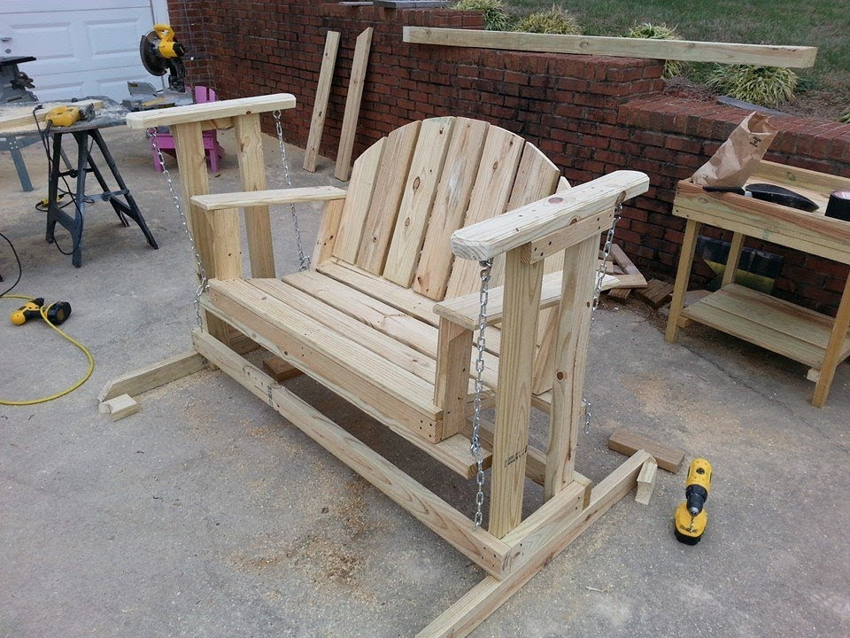 How to Build Glider Swing Bench Plans PDF Plans